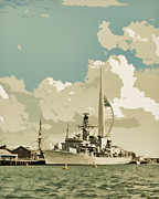 Royal Navy Art - Portsmouth by Sharon Lisa Clarke