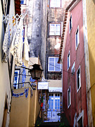 Urban Acrylic Prints - Portuguese Alley by Roberto Alamino