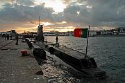 Nato Framed Prints - Portuguese Navy submarine Framed Print by Gaspar Avila
