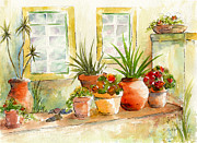 Planter Posters - Portuguese Planters Poster by Pat Katz