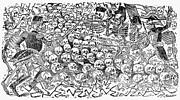 Posada: Skeletons, 1911 Print by Granger