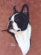 Boston Pastels Prints - Pose Print by Susan Herber