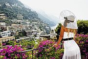 One Woman Only Prints - Positano Dreams I Print by George Oze