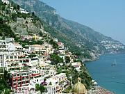 Positano Prints - Positano In the Afternoon Print by Donna Corless