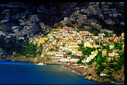 Rivera Framed Prints - Positano Framed Print by John Galbo