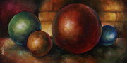 Basic Paintings - Position by choice by Michael Lang