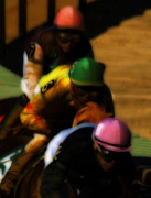 Jockey Digital Art - Positional Colors   by Steven  Digman
