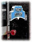 Post Alley Framed Prints - Post Alley 4 Framed Print by Tim Allen