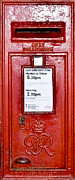 Post Box Framed Prints - Post Box Framed Print by Svetlana Sewell