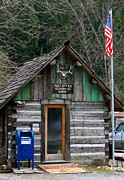 Log Cabin Photos - Post Office by Karon Melillo DeVega