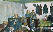 Pre-19th Prints - Postcard Of Opium Den, San Francisco Print by Science Source