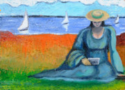 Cape Cod Paintings - Postcards From Home by Susan Stewart