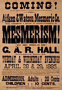 Handbill Framed Prints - Poster Announcing A Magic Show, Reads Framed Print by Everett