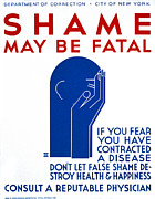 Shame Metal Prints - Poster Encouraging Persons Metal Print by Everett