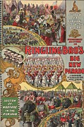 Arabs Photos - Poster  Ringling Brothers Circus by Everett