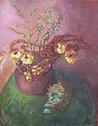 Laurel  McCallum - Pot of Mums