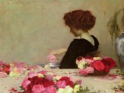 Girl Paintings - Pot Pourri by Herbert James Draper