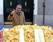 Robert De Niro Art - Potato Chip Man by Lorraine Devon Wilke