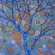 Raw Sienna Art - Potential Tree by Dana Marie