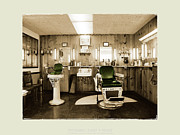 Maryland Photo Originals - Potomac East Barbershop by Jan Faul