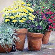 Marsha Young - Pots in Bloom
