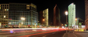 Traffic Lights Photos - Potsdamer Place by Marc Huebner