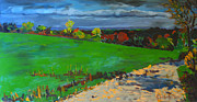 Grafton Ma Paintings - Potter Hill Meadows by Allison Coelho Picone