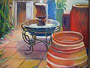 Lafayette Originals - Pottery Fountain by AnnE Dentler