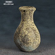 Canvas Ceramics - Pottery Jug by Thien Phu Fine Arts