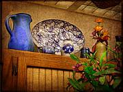 Pottery Still Life Print by Judi Bagwell