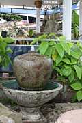Round Ceramics - Pottery water fountain by Thien Phu Fine Arts