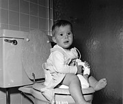 Domestic Bathroom Photos - Potty Training by Yearwood
