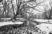 Photography Originals - Poudre Black and White by James Steele