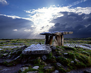 Sorrows Posters - Poulnabrone Dolmen, County Clare Poster by Chris Hill