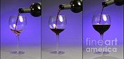 Wine Pouring Prints - Pouring Wine Print by Photo Researchers, Inc.