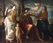 Poussin Art - Poussin: Apollo by Granger