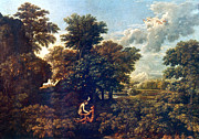 Poussin Posters - Poussin: Spring, 1662-63 Poster by Granger