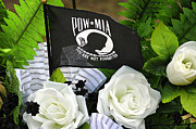 Honor Framed Prints - Pow-mia Framed Print by Carolyn Marshall