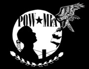 Patrol Drawings Posters - Pow Mia Poster by Scarlett Royal
