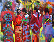Wow Paintings - Pow Wow  by Angeler Tripajayakorn