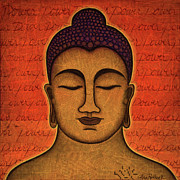 Buddhism Art - Power by Gloria Rothrock