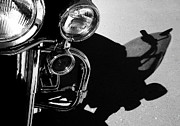 Harley Davidson Road King Motorcycles Photos - Power Shadow - Harley Davidson Road King by Steven Milner