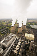 Most Photo Posters - Power Station Cooling Towers Poster by Colin Cuthbert
