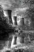 River Avon Prints - Power Station Print by David French