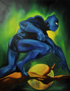 Superhero Originals - Power to the panther by Mitchell Todd