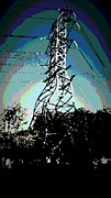 Web Gallery Posters - Power Tower Melting Poster by David Alvarez