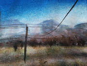 Powerlines Paintings - Powerlines by Anji Smith