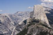 Nevada Falls Photos - pr 152 - Half Dome 3  by Chris Berry