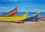 Puerto Rico Paintings - PR Beach by Sean Smith