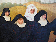 Nuns Paintings - Praenuntius by Leda Miller